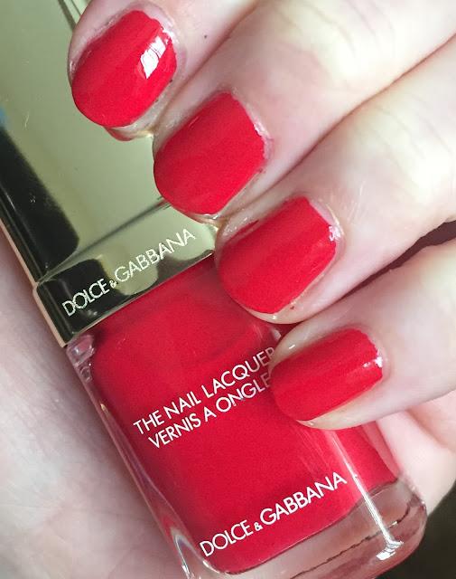 Dolce & Gabbana, Dolce & Gabbana Dora Intense Nail Lacquer, nail polish, nail varnish, nails, #ManiMonday, manicure