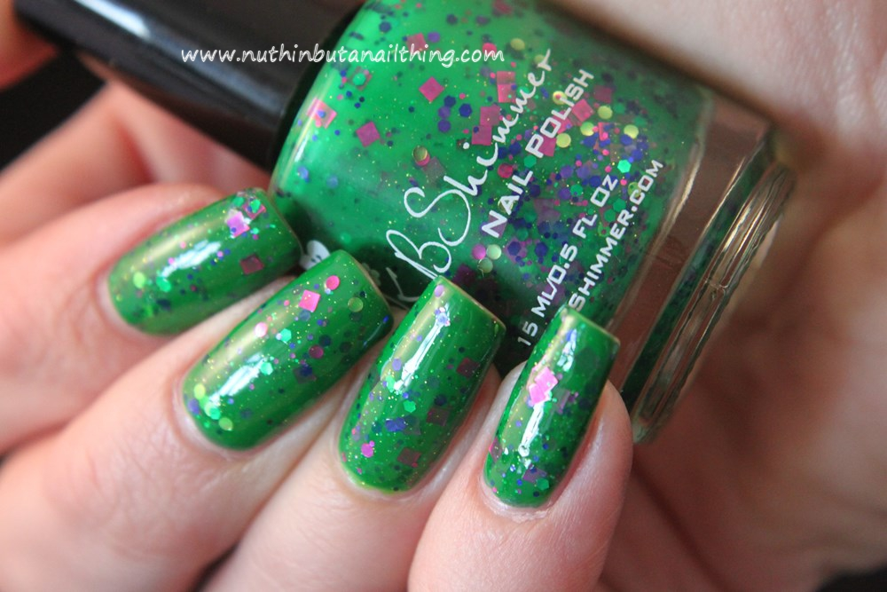 KB Shimmer - The Dancing Green