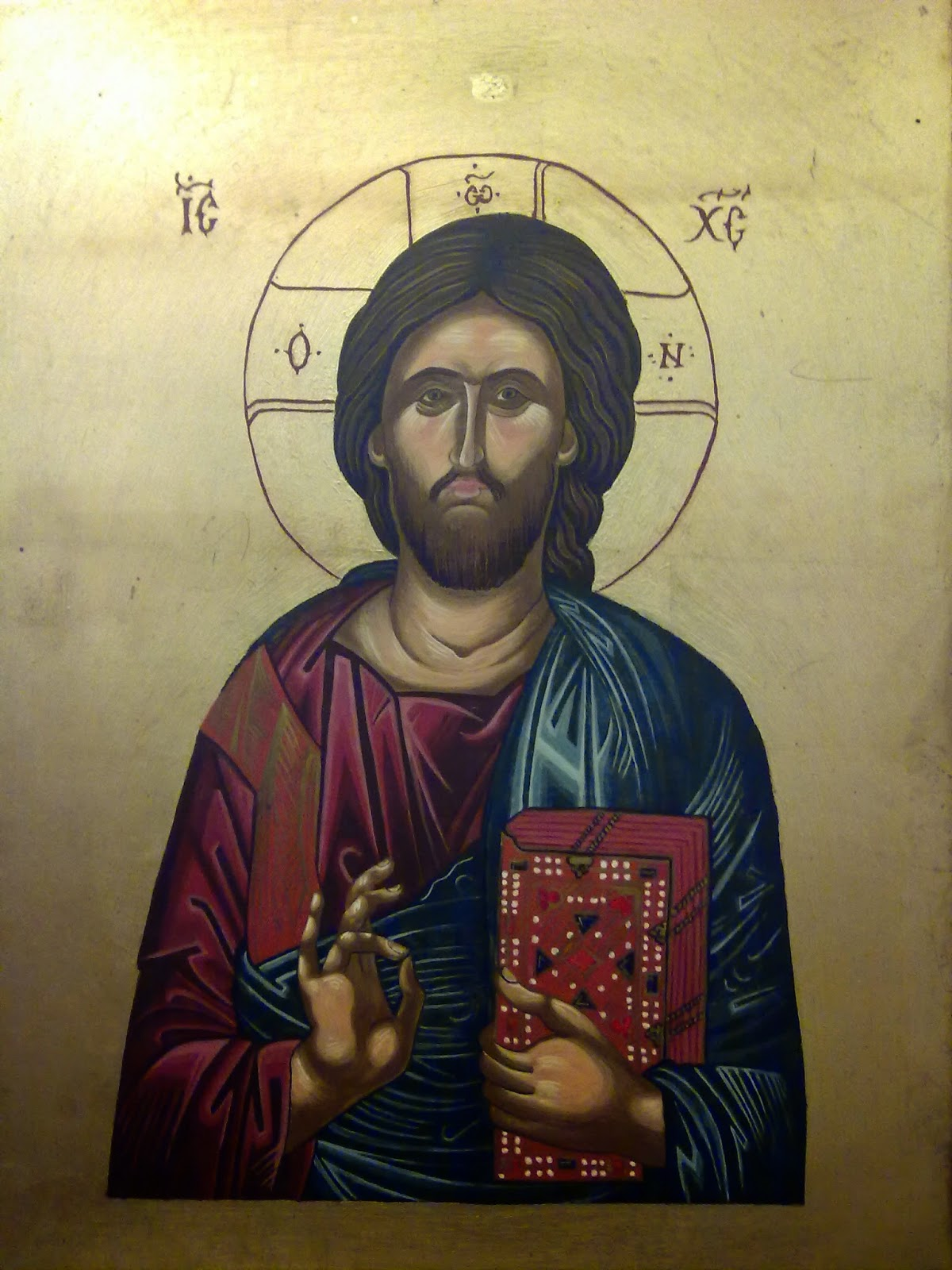 Road to rome iconography class at st clement s monastery galong nsw sept 2014 for Comfaience saint clement