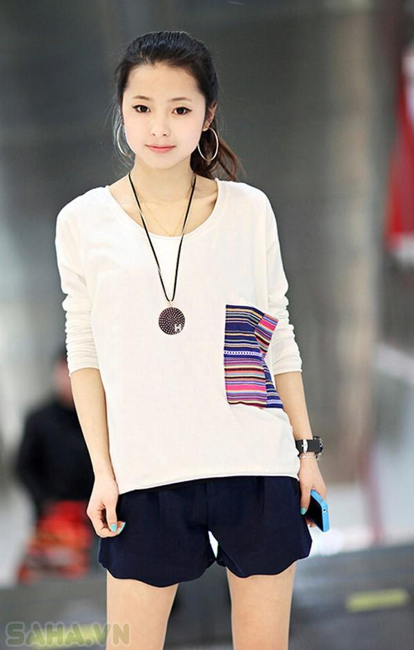 áo thun túi sọc 3053
