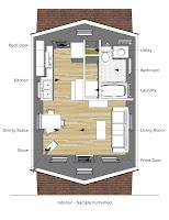 plano de casita pequeña