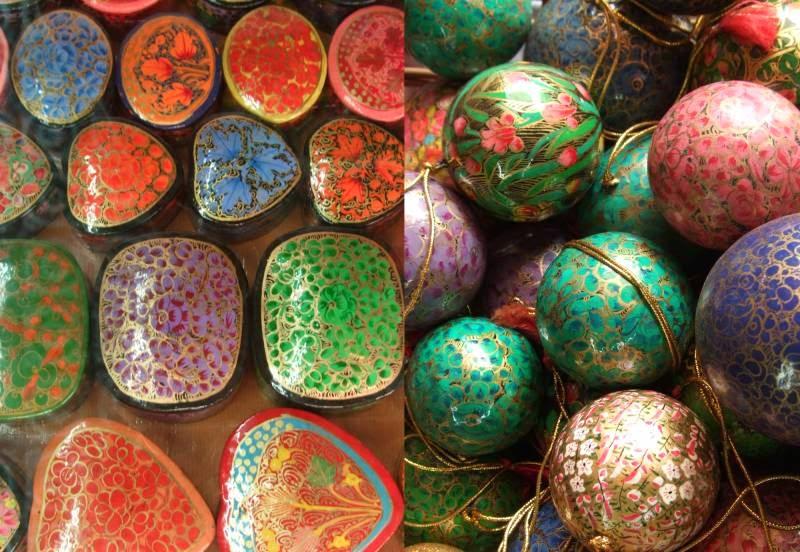 Handicrafts Of India Paper Mache Exotic Kashmir Handicrafts