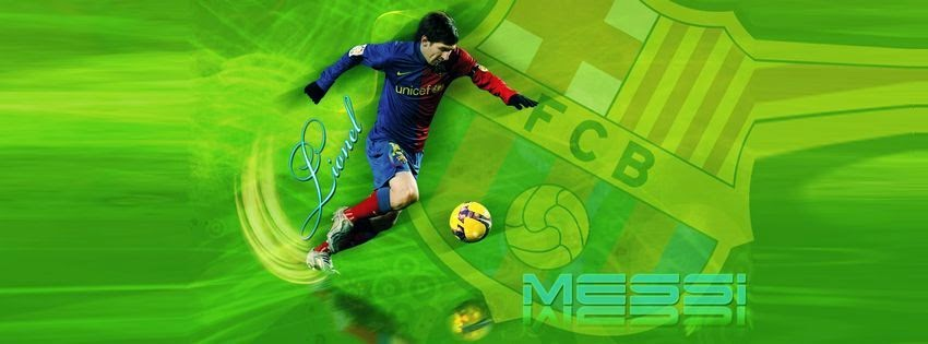 Couverture facebook Messi