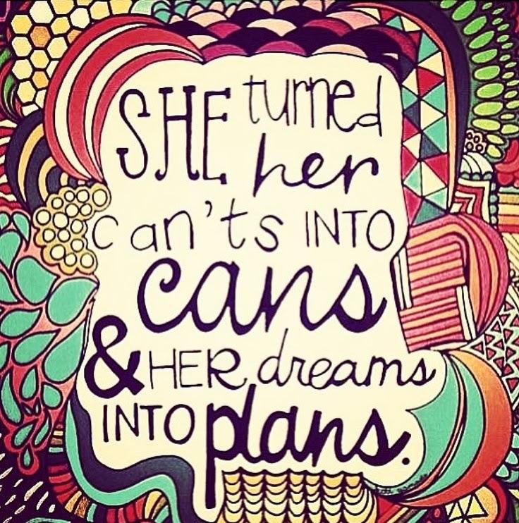 so many plans...