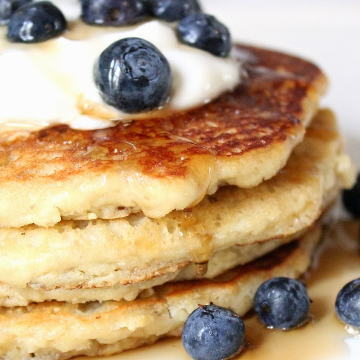 Low-Carb, Gluten-Free Almond Pancakes