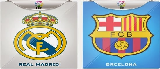 BRCELONA  VS   REAL MADRID