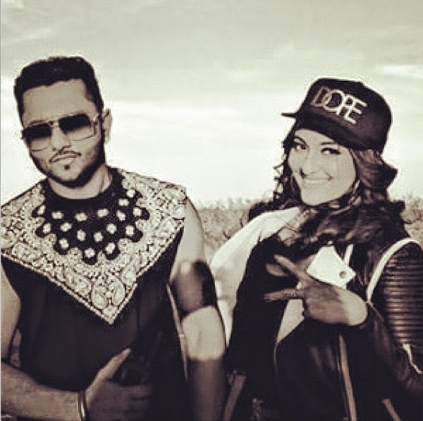 Honey singh and sonakshi sinha in desi kalakaar song