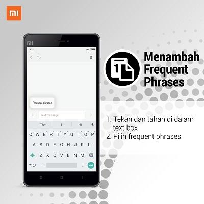 Cara Menambahkan Frequent Phrases Keyboard Android Xiaomi Bali