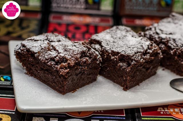 Le Choco-coco: Moelleux au chocolat et au lait de coco - sans lactose sans beurre sans gluten