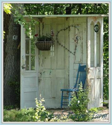 Prairie flower farm now i can dream of a greenhouse for Idea door yw