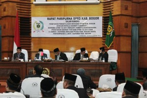 DPRD Kabupaten Bogor Setujui Raperda