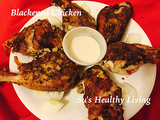 Permalink to Blackened Chicken; Diabetes Friendly Thursday