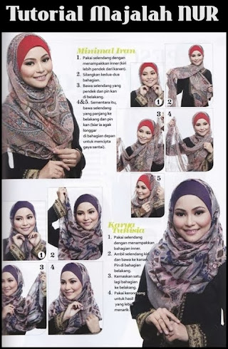 WEARING SHAWL IS SIMPLE.