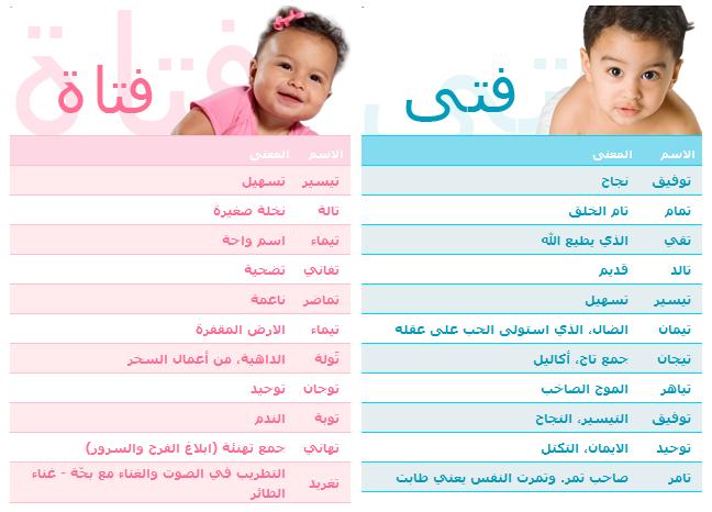 اسماء بنات 2014