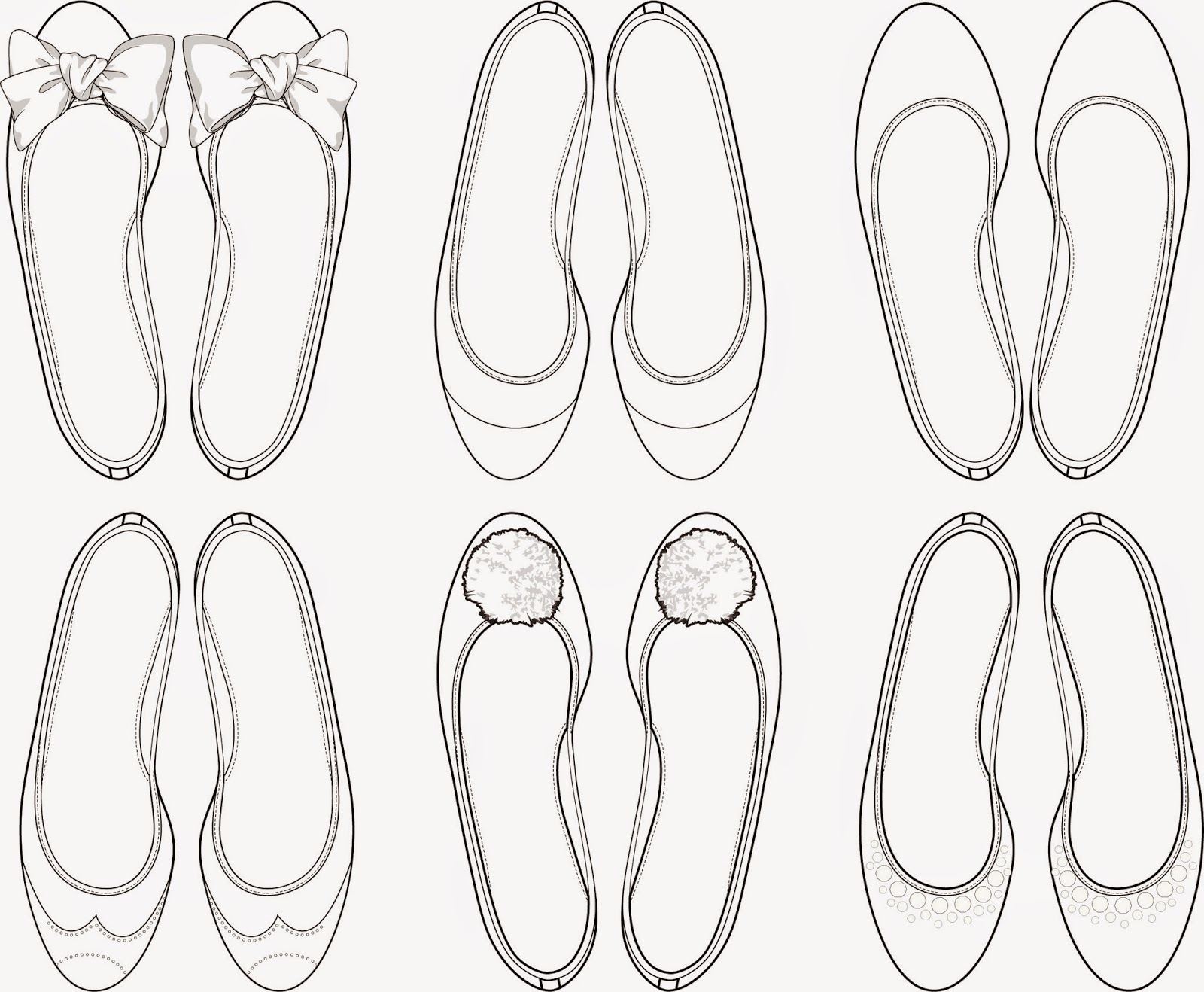 the spinsterhood diaries wednesday fun ballet flats coloring page