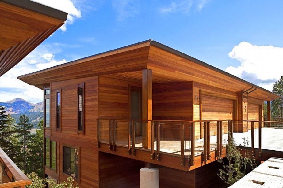 model rumah panggung kayu minimalis idaman