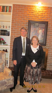 Mission Pres. and Sis. Leavitt