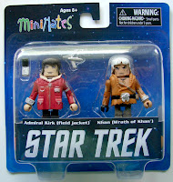 Diamond Select Star Trek Legacy Minimates - Captain Kirk & Khan Figures