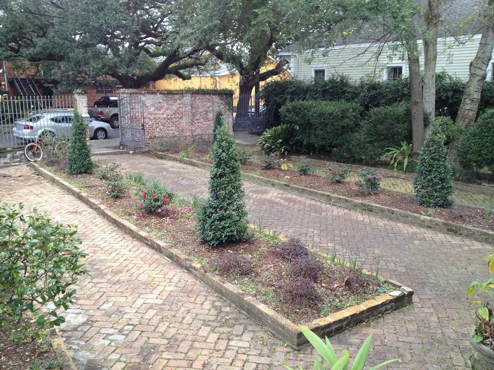The site was once part of the plantation of Claude Treme where the first brickyard in New Orleans had been established in 1725 by the company of the Indies.