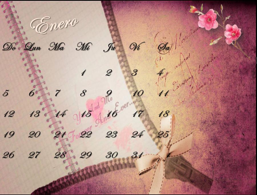 Un calendario para 2014
