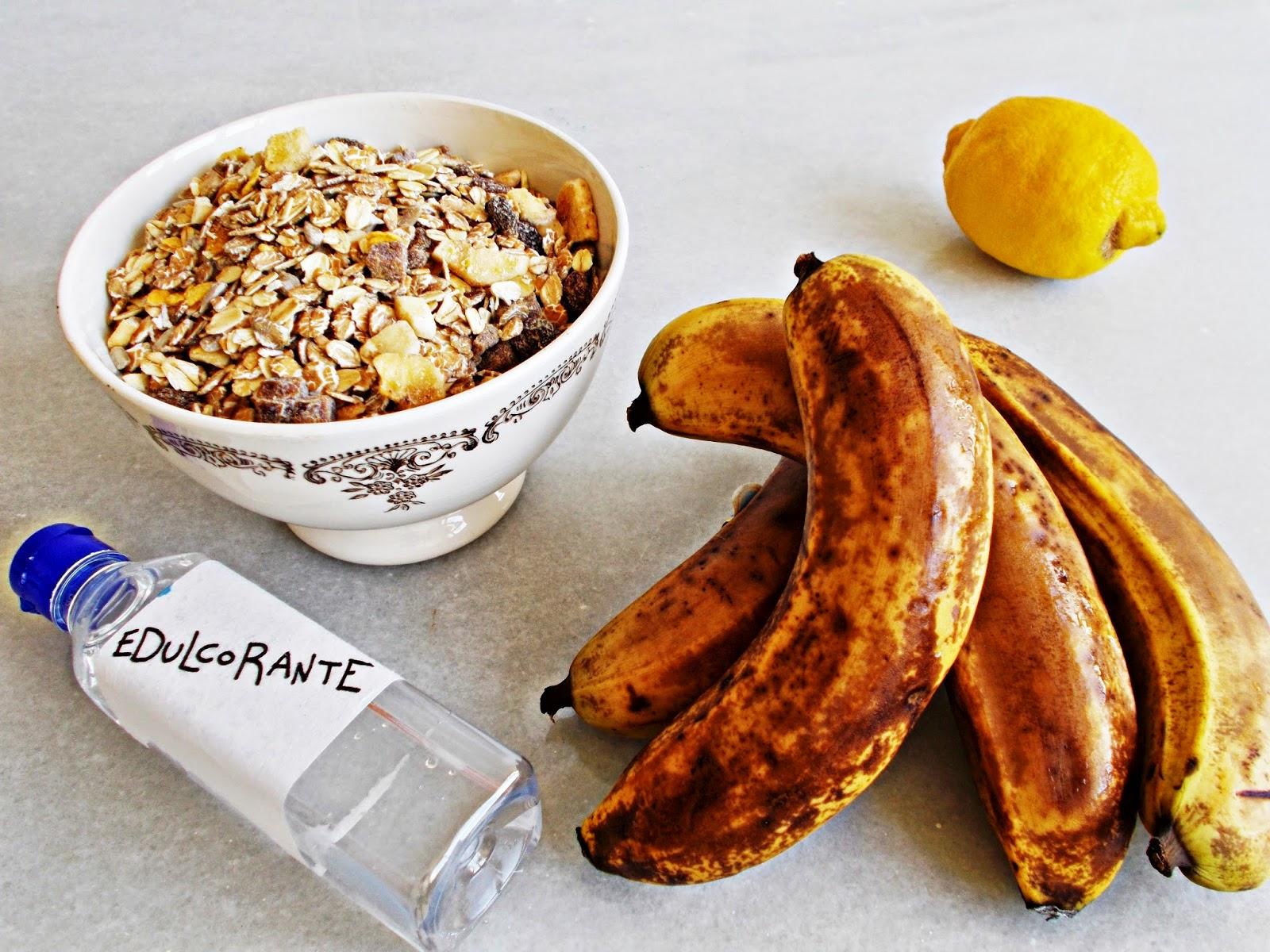 Galletas de avena y plátano-cocina-repostería-fitnes-deporte-gym-ligth-ingredientes