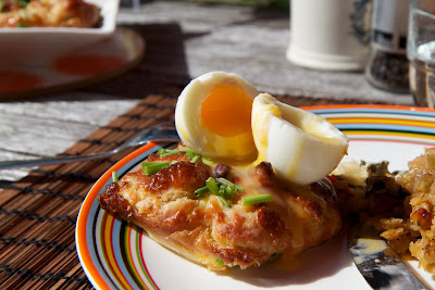 piiras ja kananmuna