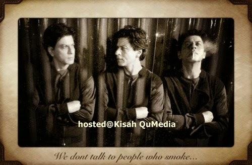 Shah Rukh Khan Merokok 100 Batang Sehari Sehingga Lupa Untuk Makan