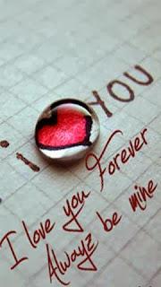 I love you Romantic love shayari for lovers