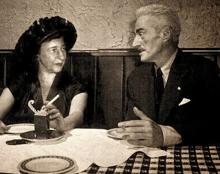 Lillian Hellman and Dashiell Hammett