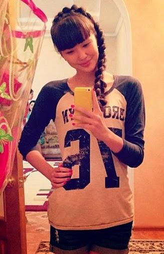 Foto Selfie Sabina Altynbekova 4