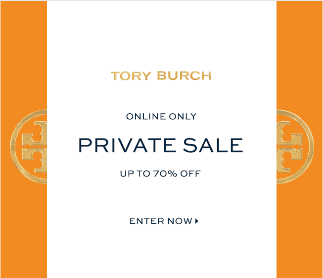 Tory Burch Private Sale March 2015