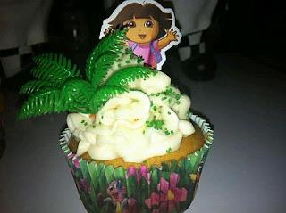 Cupcakes Dora la Exploradora para Fiestas Infantiles