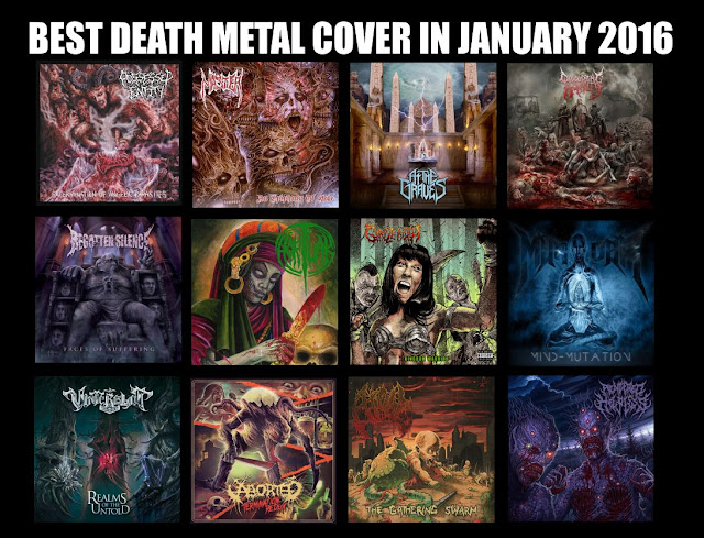 Best Death Metal Cover in January 2016, Best Death Metal Cover