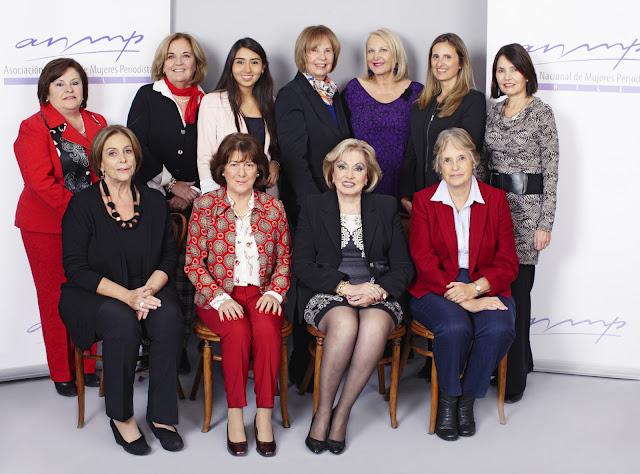 Constituida nueva directiva de la Asociación Nacional de Mujeres Periodistas