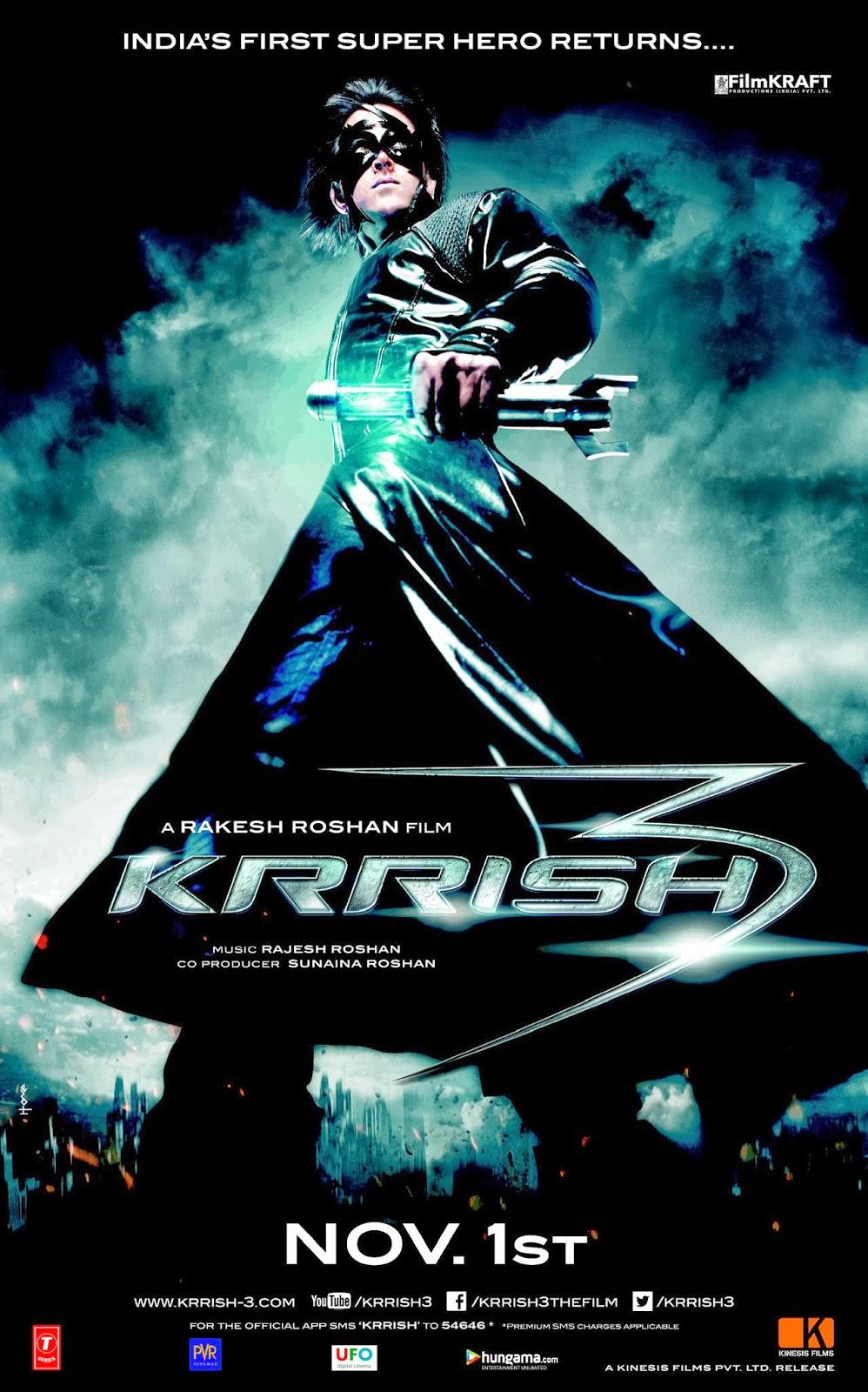 Krrish 3 (V.O.S) (2013)