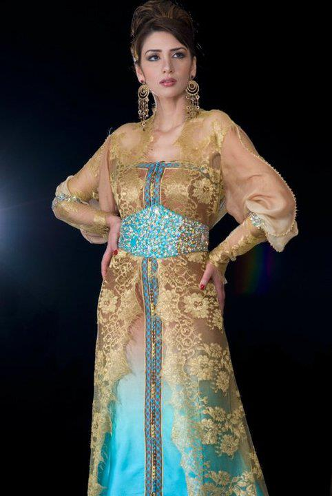 Tenues algeriennes new caftan maghrebi 2014 - Housse salon marocain pas cher ...