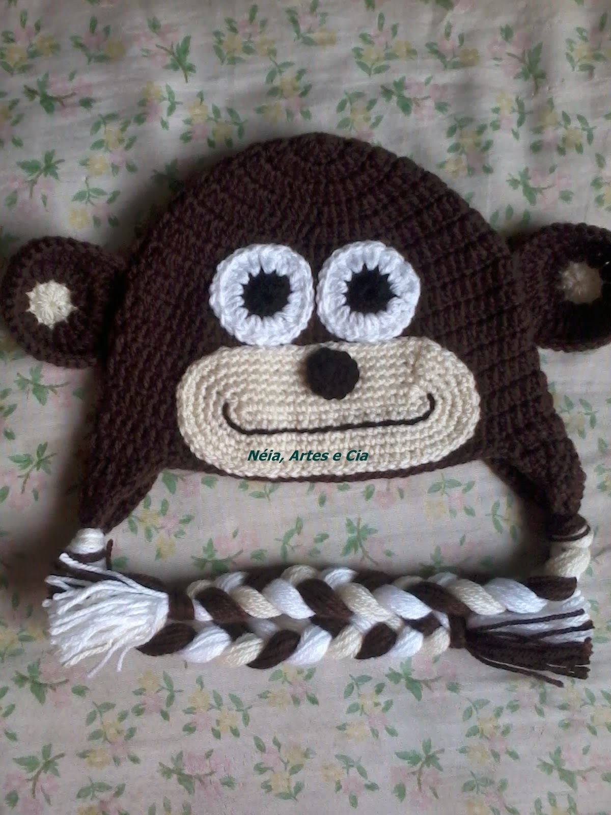 Tapete Minions De Croche : N?ia, artes e cia: Toucas de croch? Minions, Macaco e Monstros