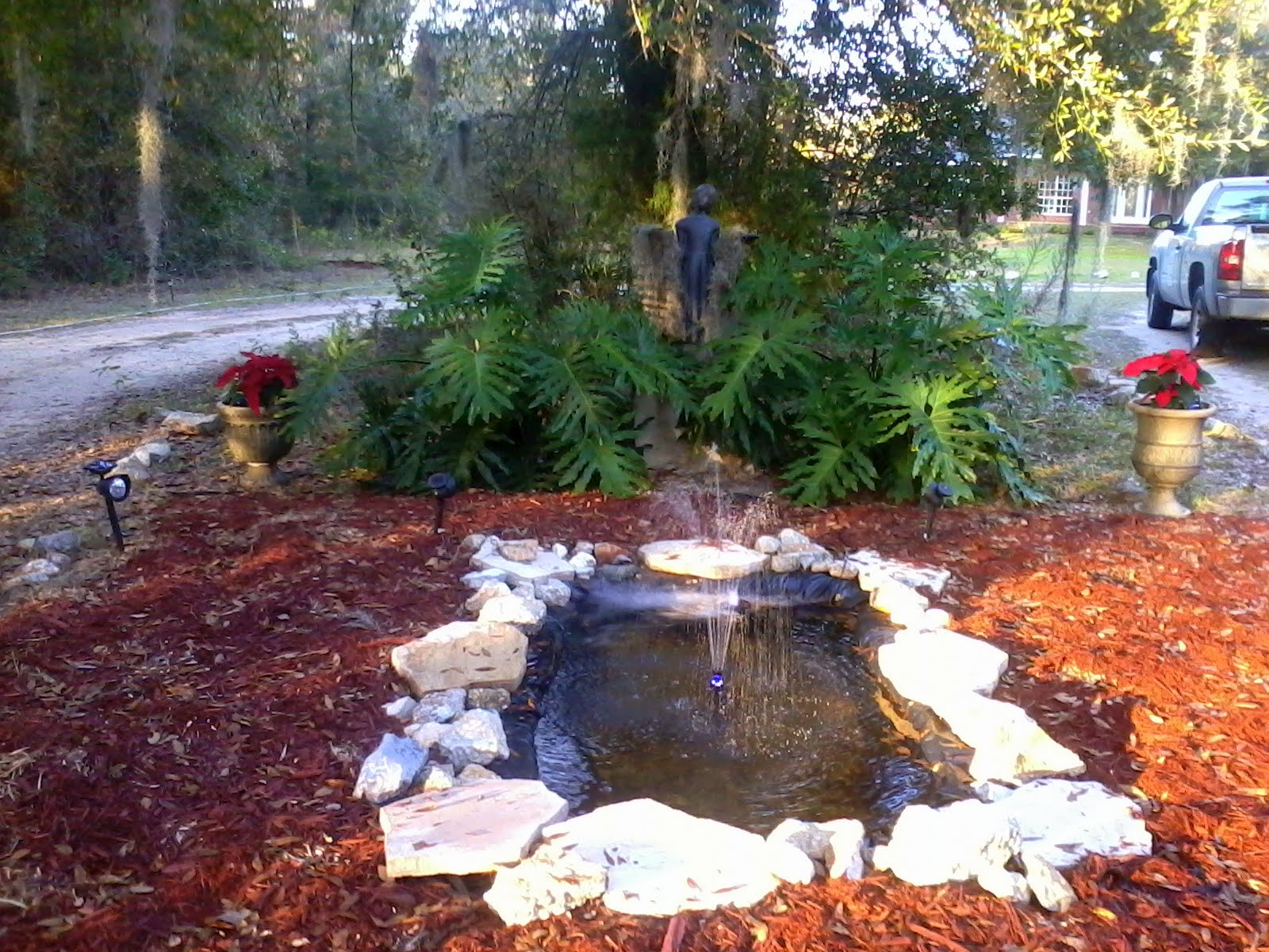 Alabama rose and flower garden from a non green thumb for Flower garden ponds