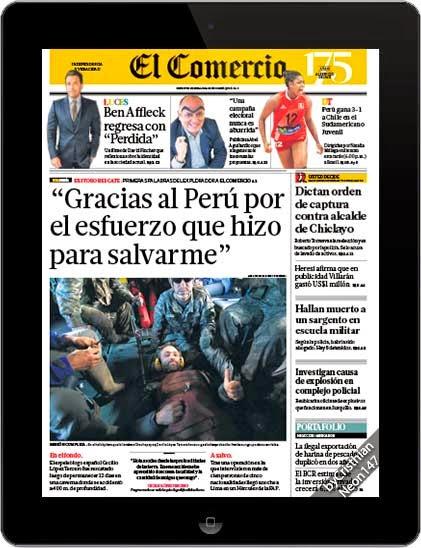Diario El Comercio Perú + Suplementos (01 Octubre 2014) -