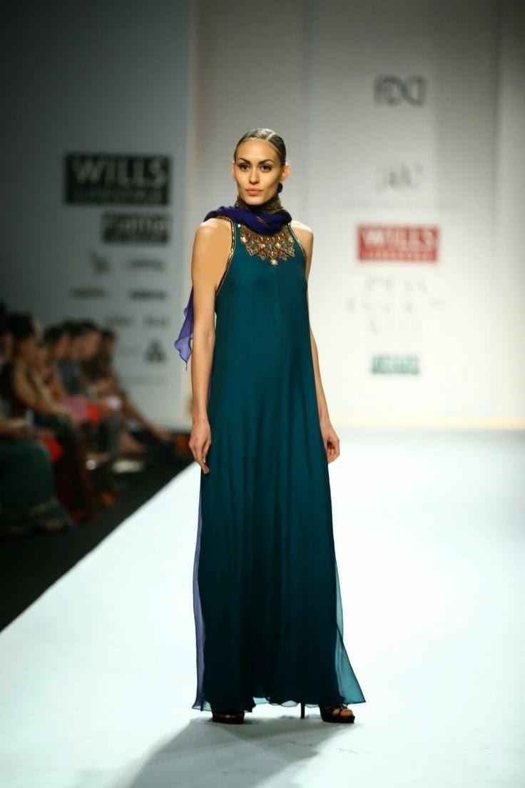 Ashima Leena Show At Wills Lifestyle India Fashion Week 2014 Vega Fashion Mom