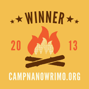 2013 Camp NaNoWriMo Winner