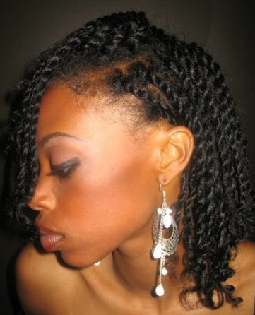two strand twists black women natural hairstyles fashion