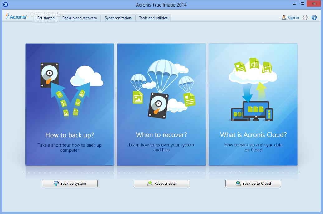 Acronis True Image Premium 2014 v17.0.5560 Español + Plus Pack BootCD - Descargar - DescargarZ.com
