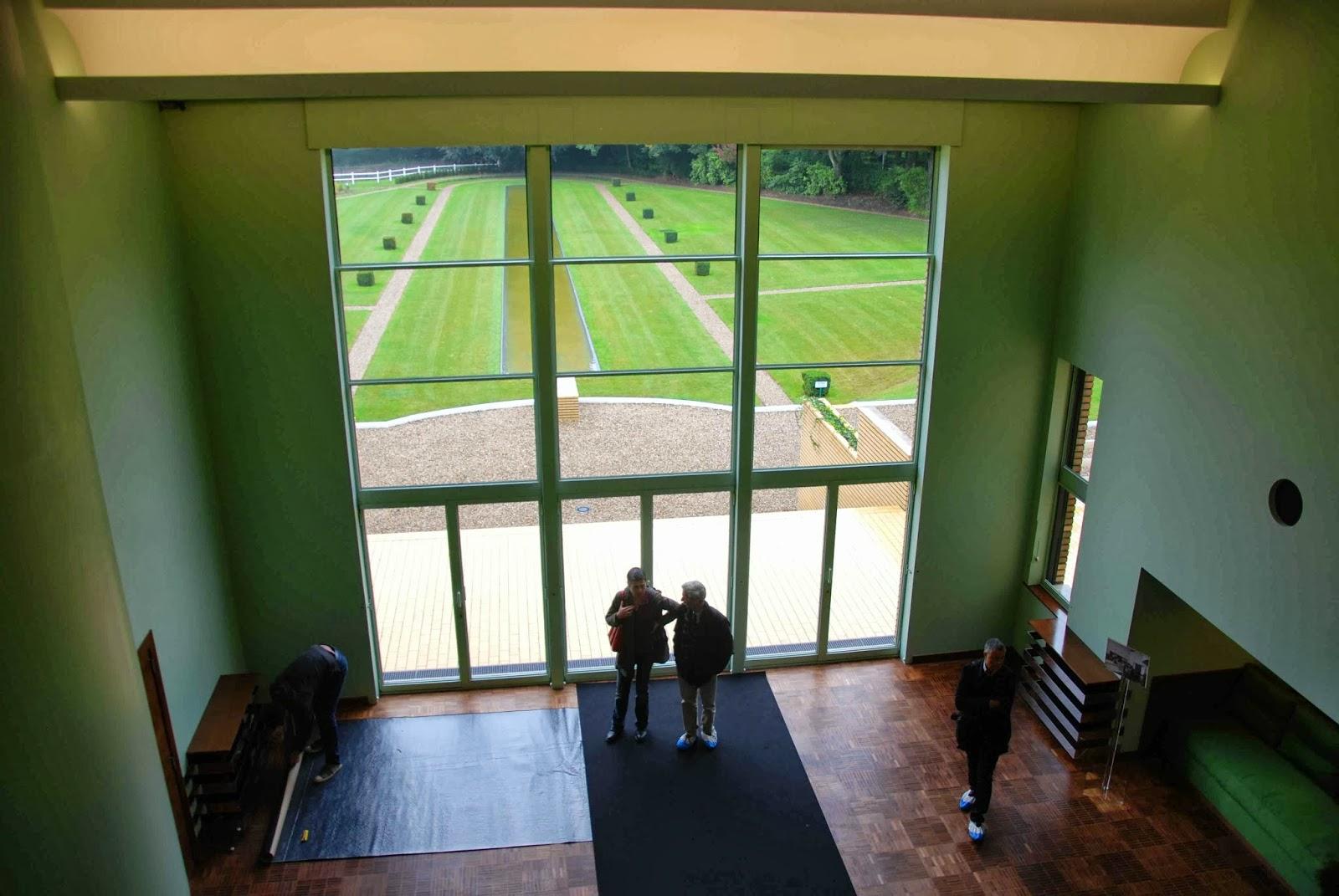 Le parc barbieux dit le beau jardin la villa cavrois de for Baie vitree 6 metres