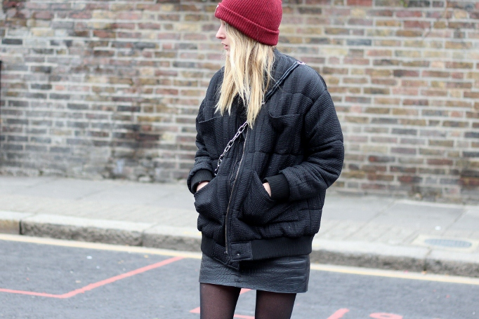 Camille over the Rainbow / Carin Wester reva bomber