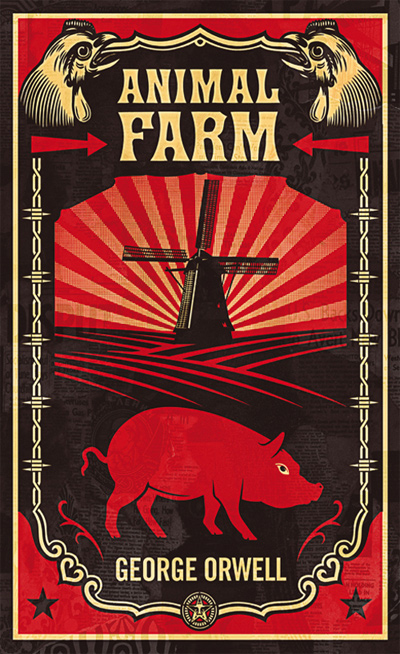 a satire of stalinism in george orwells animal farm Get free homework help on george orwell's animal farm: book summary, chapter summary and analysis, quotes, essays, and character analysis courtesy of cliffsnotes animal farm is george orwell's satire on equality, where all barnyard animals live free from their human masters' tyranny.
