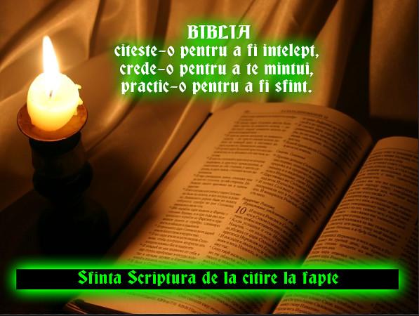 Biblia - scrisoarea de dragoste a lui Dumnezeu