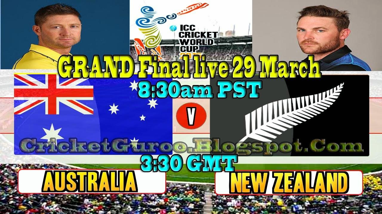 Australia Vs New Zealand Final (WC2015)