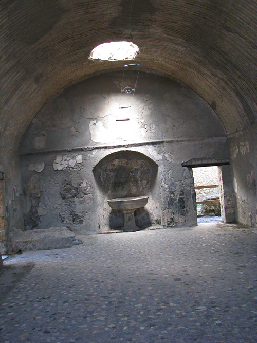 forum baths herculaneum