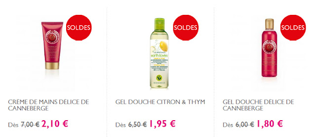 The Body Shop: Coffret beauté à partir de 2.70€